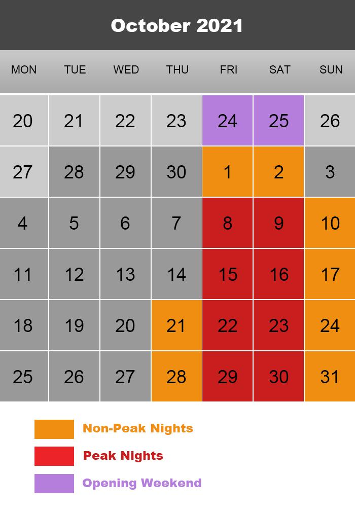 2021 Double M Calendar