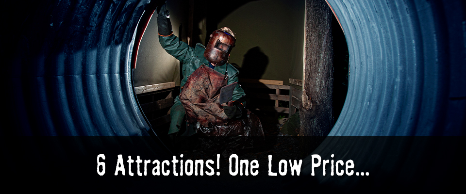 6 Attractions! One Low Price